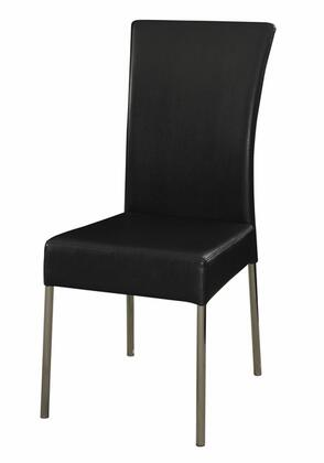 Powell 433495 Modern Fabric Metal Frame Dining Room Chair