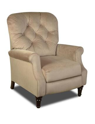 Chelsea Home Furniture 1826506801 New Hampshire Series Traditional Noble Camel Wood Frame  Recliners