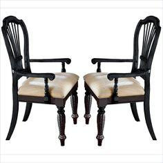 Hillsdale Furniture 4509805 Wilshire Series Transitional Fabric Wood Frame Dining Room Chair