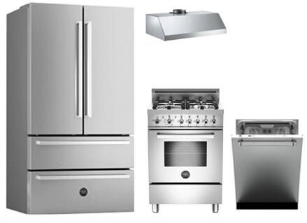 Bertazzoni 743417 Professional Kitchen Appliance Packages