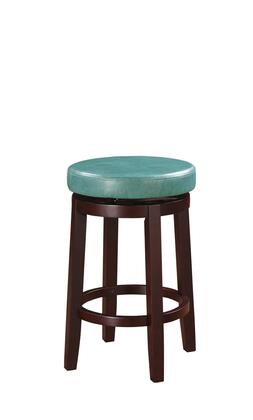 Linon Maya 98352TEA 01 KD Maya Teal Counter Stool Lifestyle