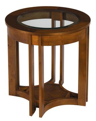 Stein World 367023 Walnut Grove Series Transitional  End Table
