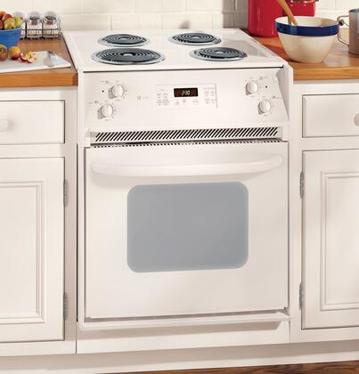 GE JMP31CLCC  Slide-in Electric Range with Coil Cooktop 3 cu. ft. Primary Oven Capacity