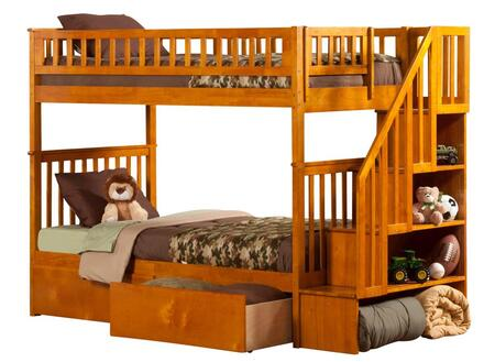 Atlantic Furniture AB56647  Twin Size Bunk Bed