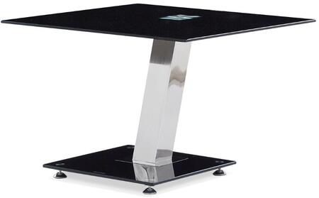 Global Furniture USA T655E Modern Square End Table