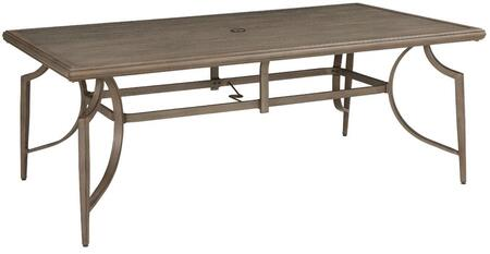 "Milo Italia OD583247 42.25"" Contemporary Dining Table"