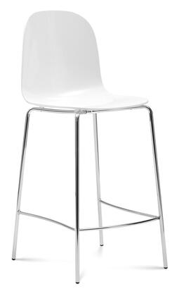 Domitalia PLAYARB0FCRSBI Playa Series Residential Not Upholstered Bar Stool
