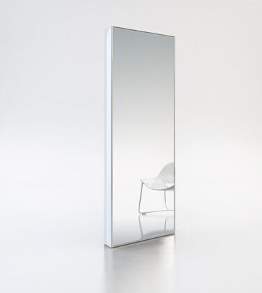 Modloft MD120LAQ Greene Series Rectangular Both Floor Mirror