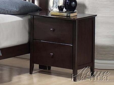 Acme Furniture 11174 San Marino Series Rectangular Wood Night Stand