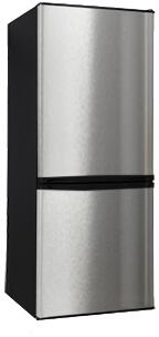 "Avanti FFBM92H3S 24""  Stainless Steel Bottom Freezer Refrigerator with 9.2 cu. ft. Capacity"