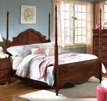Standard Furniture 56081A Jaqueline Series  King Size Canopy Bed