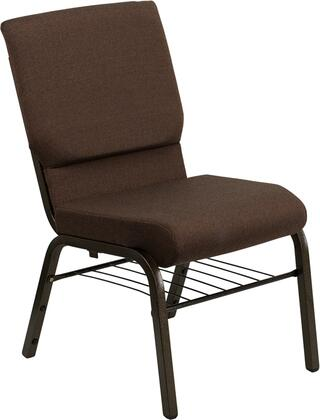 Flash Furniture XUCH60096BNBASGG Hercules Series Armless Fabric Metal Frame Accent Chair