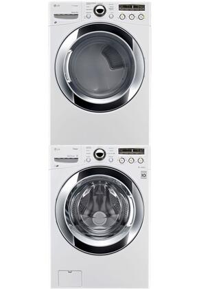 LG WM3250HWASTKPAIR2 Washer and Dryer Combos