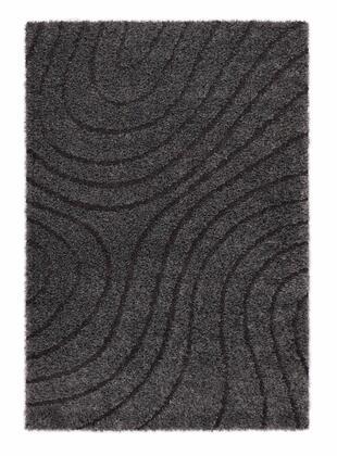 Citak Rugs 5640-050X Shoreline Collection - Tide - Graphite Mix