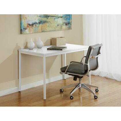 Unique Furniture P4727X Parson Desk White 47x27