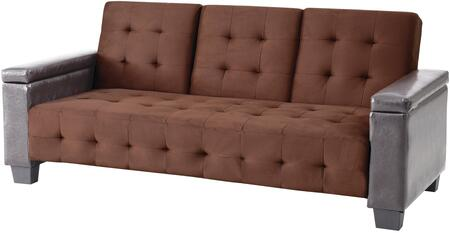 Glory Furniture G748S  Convertible Suede Sofa