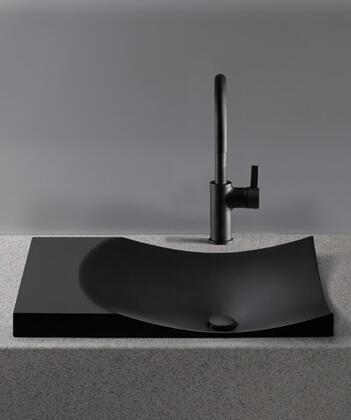 Toto FLT142#82 Waza Noir Self-Rim Lavatory