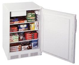 Summit SCFF55IM  Counter Depth Freezer with 5 cu. ft. Capacity in White