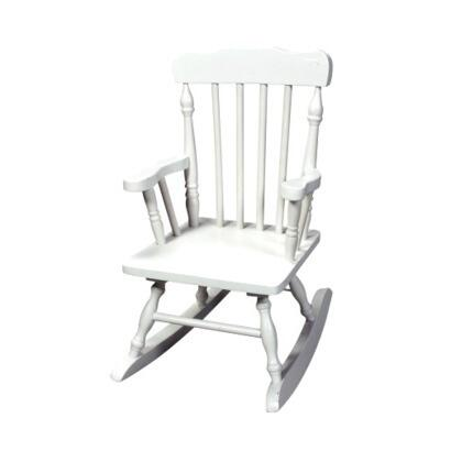 Gift Mark 3100W  Armless  Wood Frame No Rocking Chair