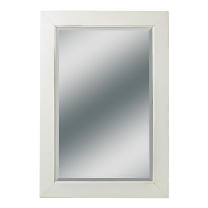 """Kaco Dover Collection 340-2224 22"""" x 37"""" Small Mirror with Multi-Step Sherwin Williams Finish and Beveled Glass in"""