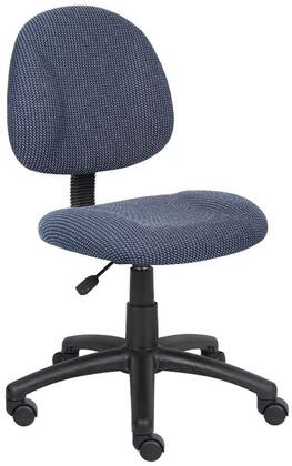"""Boss B315BE 17.5"""" Adjustable Contemporary Office Chair"""