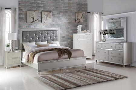 Myco Furniture Christopher 4 Piece Full Size Bedroom Set