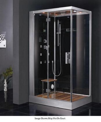 Ariel Platinum DZ959F8 Steam Shower Unit With Acupuncture Massage, Rainfall Ceiling Shower, Handheld Showerhead, Chromatherapy Lighting, FM Radio, Ventilation Fan & Overheat Protection