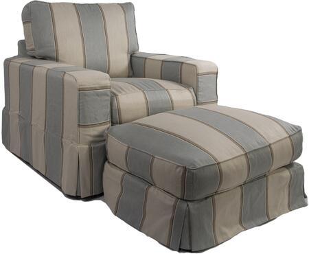 Sunset Trading SU10852030479541 Americana Living Room Chairs