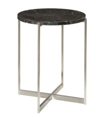 Broyhill 8051000 Suede Series Traditional Round End Table