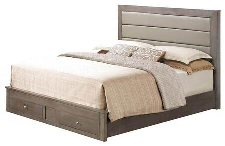 Glory Furniture G2405CQSB G2400 Series  Queen Size Storage Bed