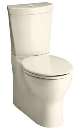 Kohler Persuade K3654 Skirted Two-Piece Elongated Dual-Flush Toilet with Top Actuator