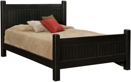 Chelsea Home Furniture 465132QWB Verdad Shaker Series  Queen Size Panel Bed