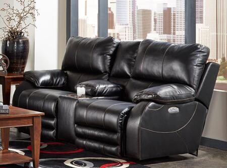 Catnapper 764279115208125208 Sheridan Series Faux Leather Reclining with Metal Frame Loveseat