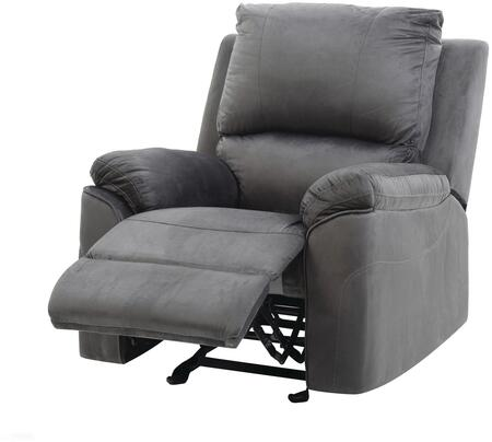 """Glory Furniture G660 Collection 35"""" Rocker Recliner with Removable Back, Split Back Cushion, Pillow Top Arms and Micro Suede Upholstery"""