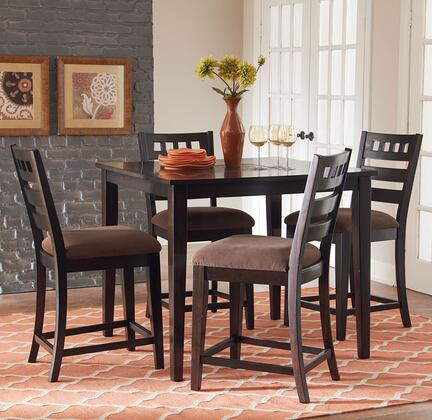Sparkle Counter Height Dining Room Set