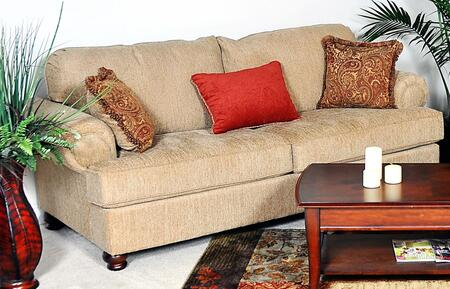 Chelsea Home Furniture 2010SCT Palm Series Stationary Polyester Sofa