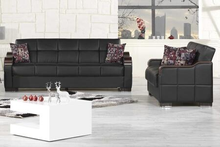 Casamode UCSBLSBKL Living Room Sets