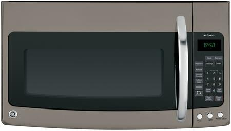 GE DVM1950ERES 1.6 cu. ft. Microwave Oven with 1000 Cooking Watts, in Slate