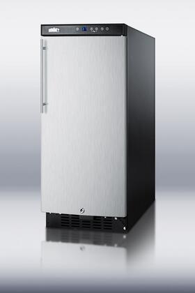 Summit SCR1536SSHV  Freestanding Compact Beverage Center