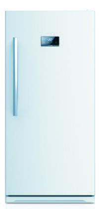 Equator FR502W Midea Series Upright Freezer
