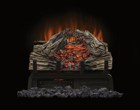 Napoleon NEFI Woodland Electric Log Set with Real Coal, LED Lights and Heater with up to 5,000 BTUs