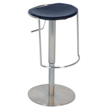 Chintaly 0535-AS- Adjustable Height Swivel Bar Stool: