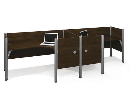 Bestar Furniture 100856C Pro-Biz Double side-by-side L-desk workstation