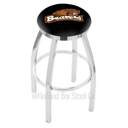 Holland Bar Stool L8C2C25OREGST Residential Vinyl Upholstered Bar Stool