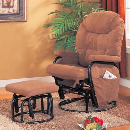 Coaster 600138 Coaster Series Traditional Microfiber  Recliners