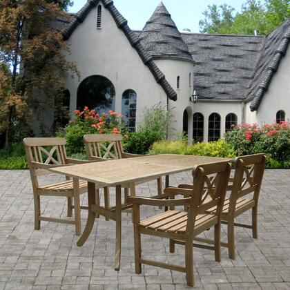 Vifah V1300SET8 Renaissance Patio Sets