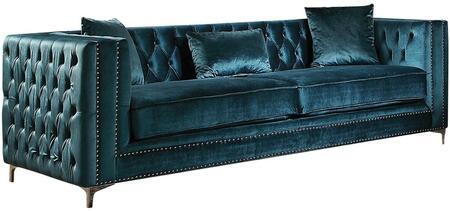 Acme Furniture 52790 Gillian Series Velvet Sofa ...