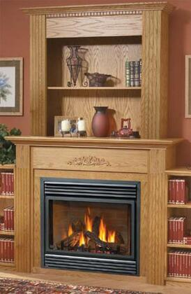 Napoleon WBKCXB Corner Upper X Bookcase Wall Kit for Medium and Large Mantels