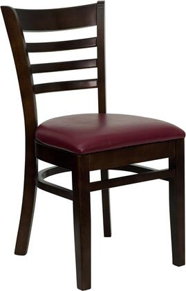 Flash Furniture XUDGW0005LADWALBURVGG Hercules Series Contemporary Vinyl Wood Frame Dining Room Chair