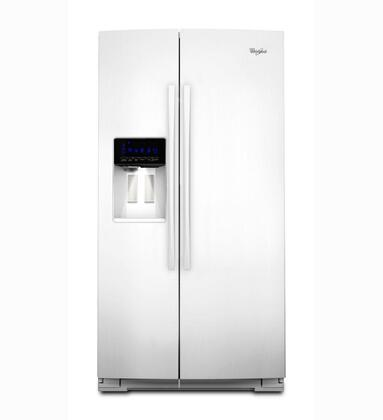 Whirlpool GSS30C6EYW  Side by Side Refrigerator with 29.7 cu. ft. Capacity in White